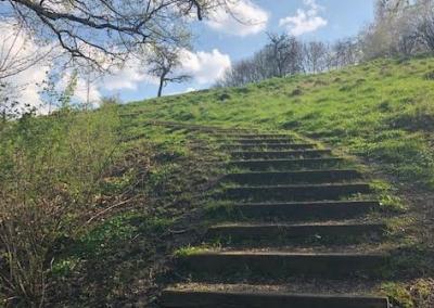 11 - On grimpe sur les Coteaux de la Citadelle